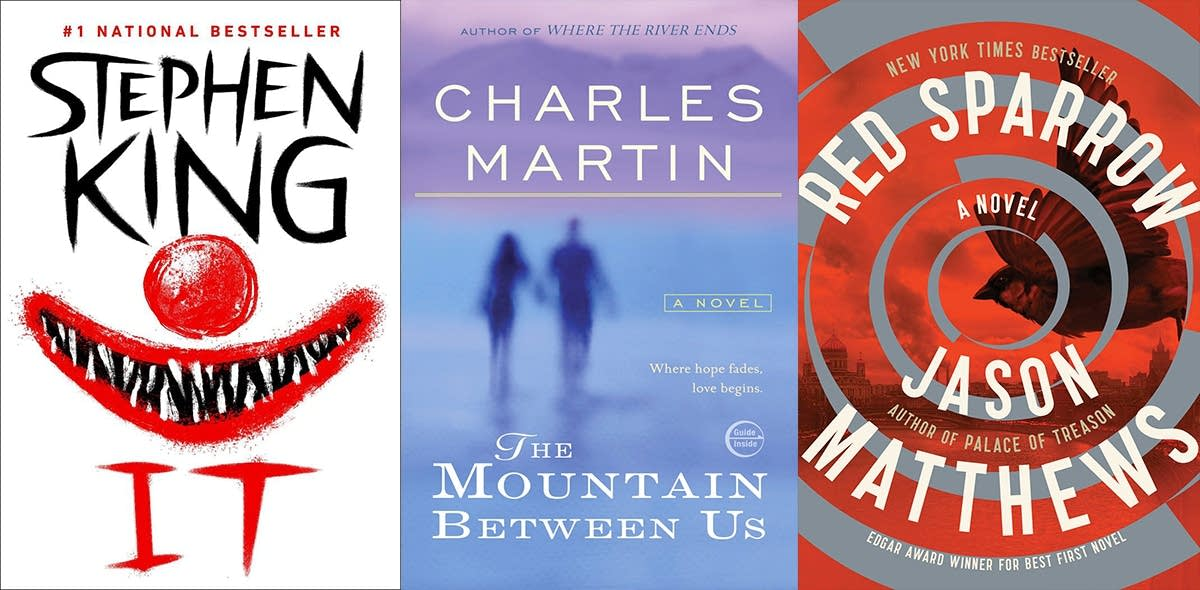 Books headed to the big screen in 2017