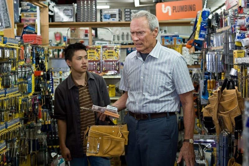 Bee Vang with Clint Eastwood