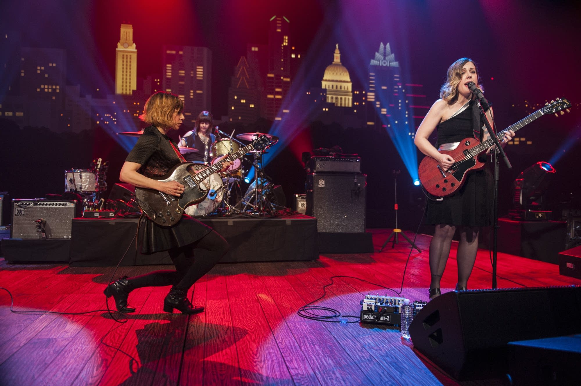 Sleater-Kinney perform on 'Austin City Limits' on PBS.