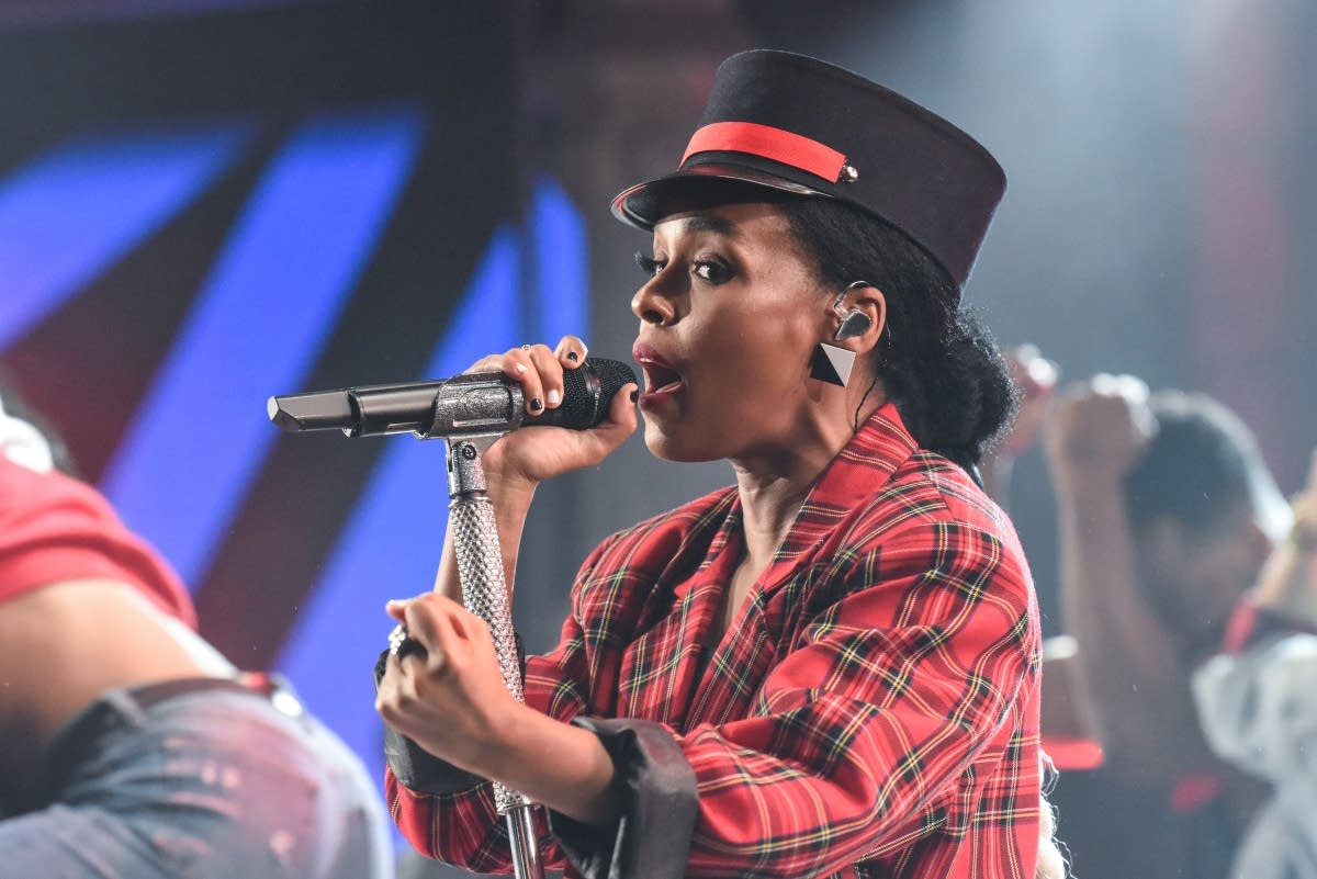 Janelle Monae performs on 'The Late Show with Stephen Colbert'