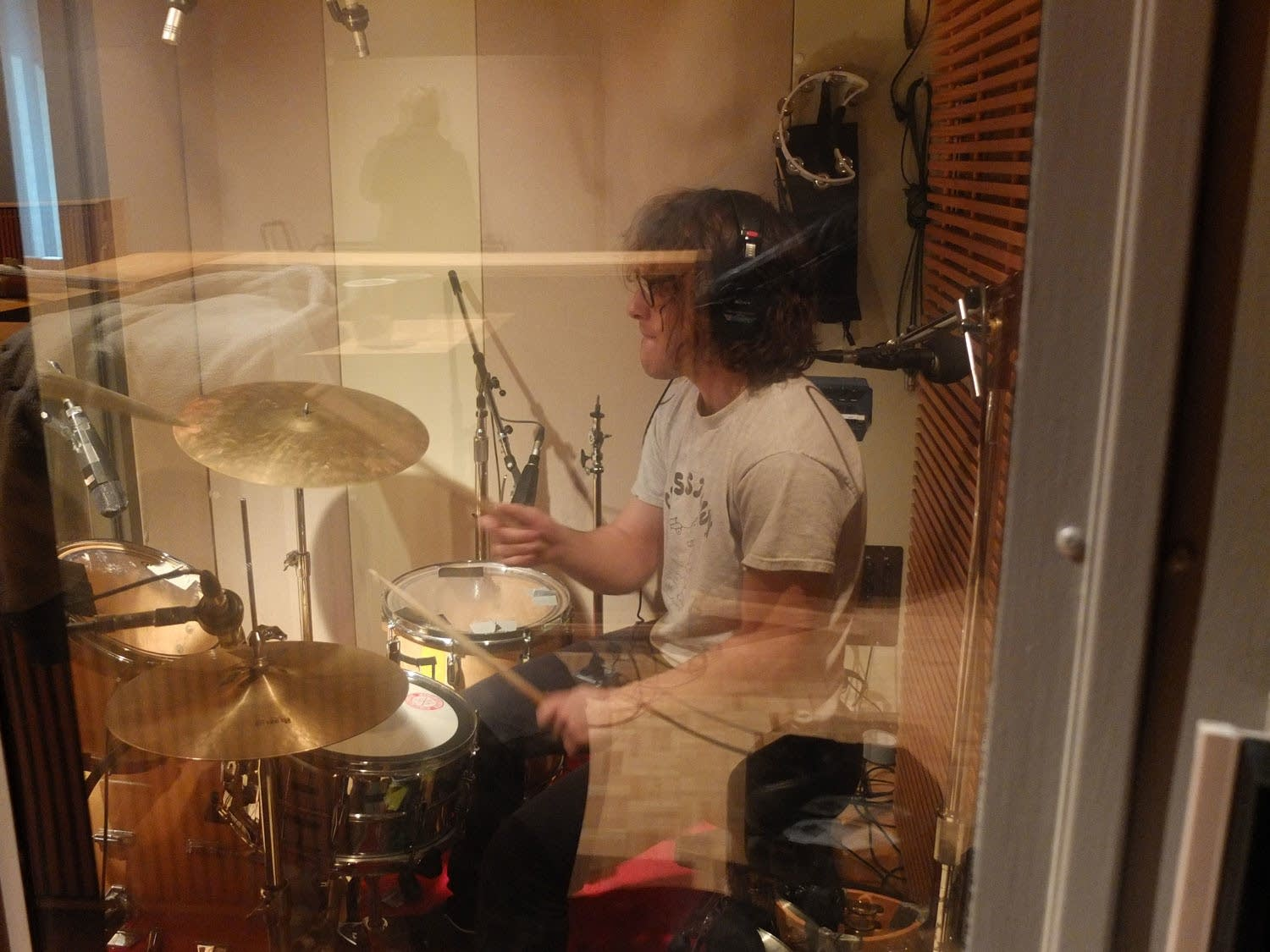 Henry Brinner of The Orwells performs in The Current studio
