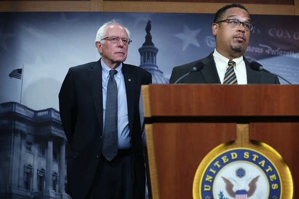 Bernie Sanders Holds News Conference On Private Prisons On Captiol Hill