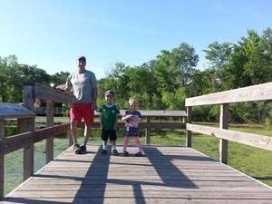 Max Brummel and his kids