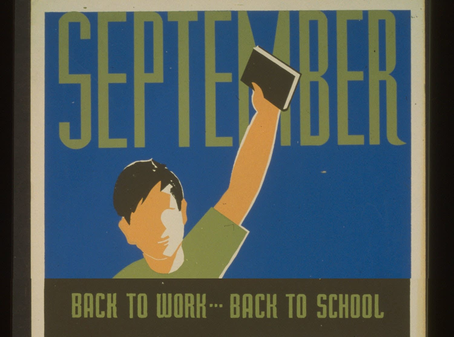 September. Back to work, school, books