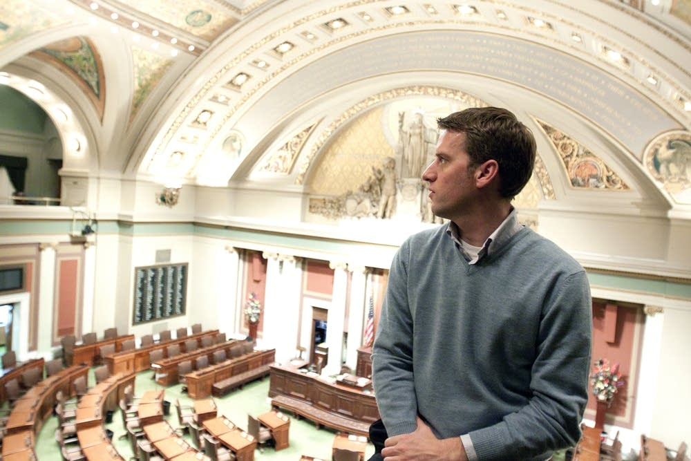 Kurt Daudt as freshman legislator in 2010