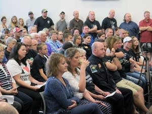 Residents pack Forest Lake City Council meeting