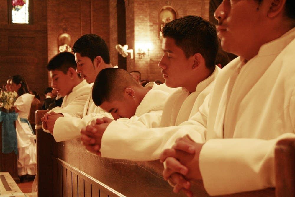 Church boys