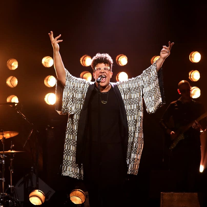Brittany Howard performs on 'The Late Late Show with James Corden'