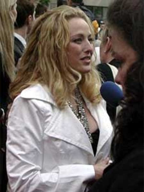 Actress Virginia Madsen