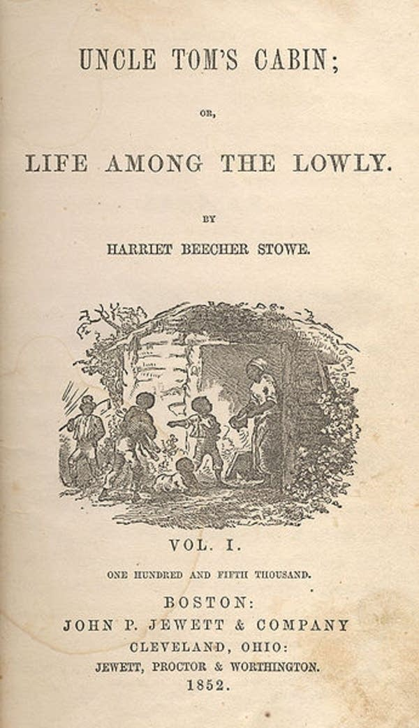 'Uncle Tom's Cabin' by Harriet Beecher Stowe