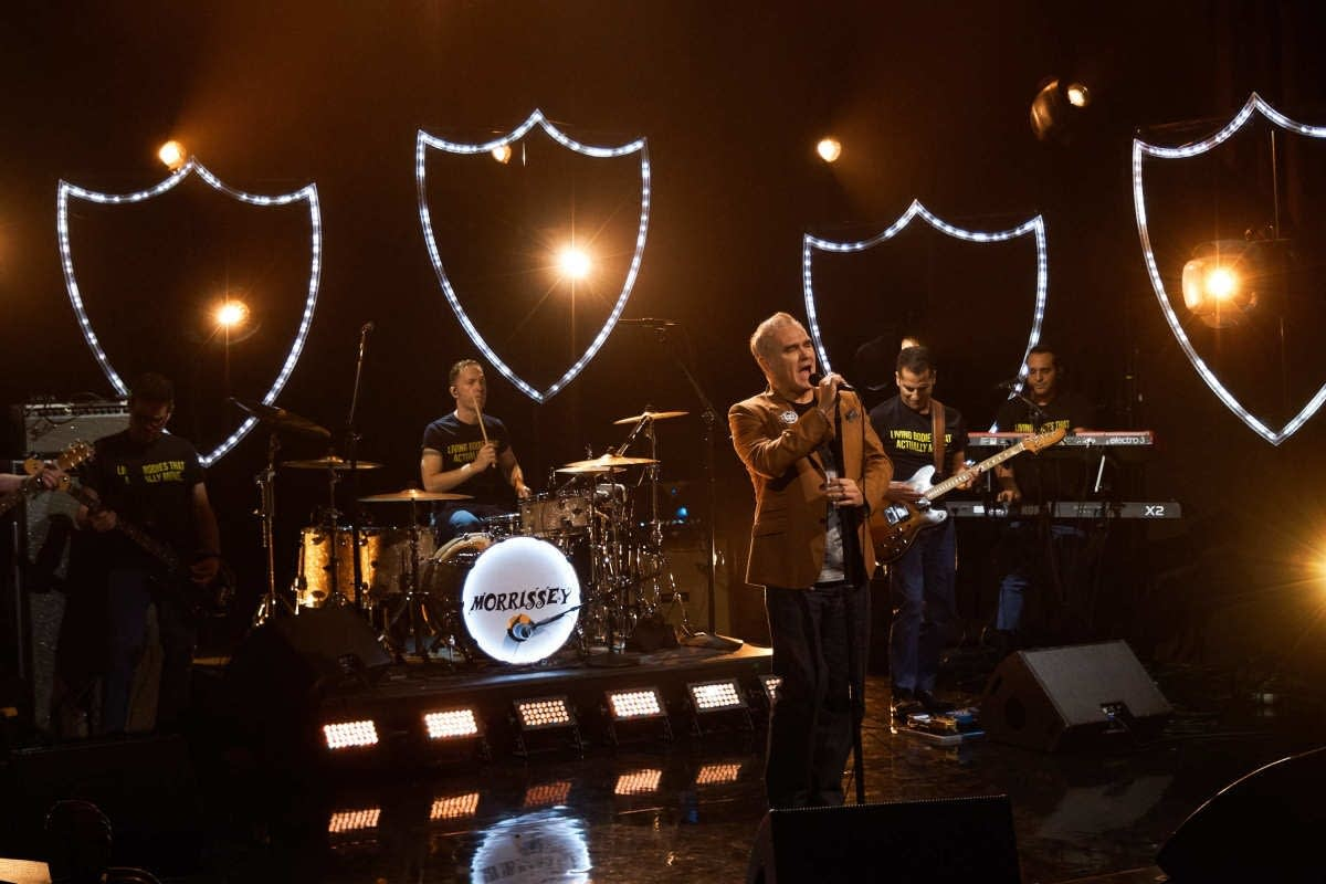 Morrissey on 'The Late Late Show with James Corden'