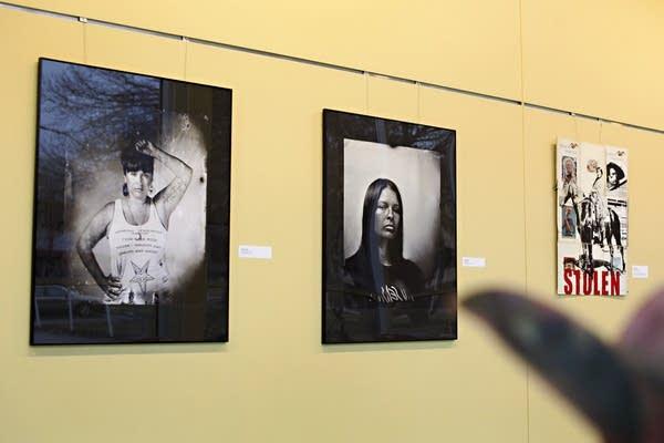 """""""Bring Her Home: Stolen Daughters of Turtle Island"""" exhibit."""