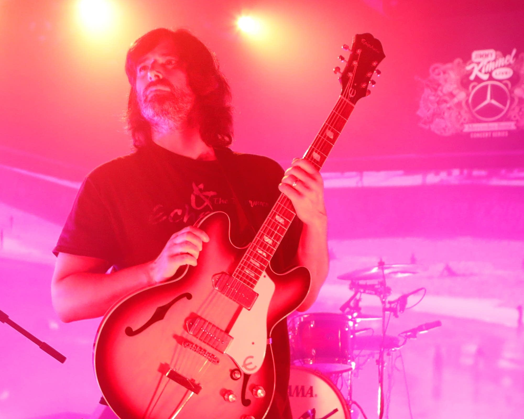 Pete Yorn performs on 'Jimmy Kimmel Live!' on ABC