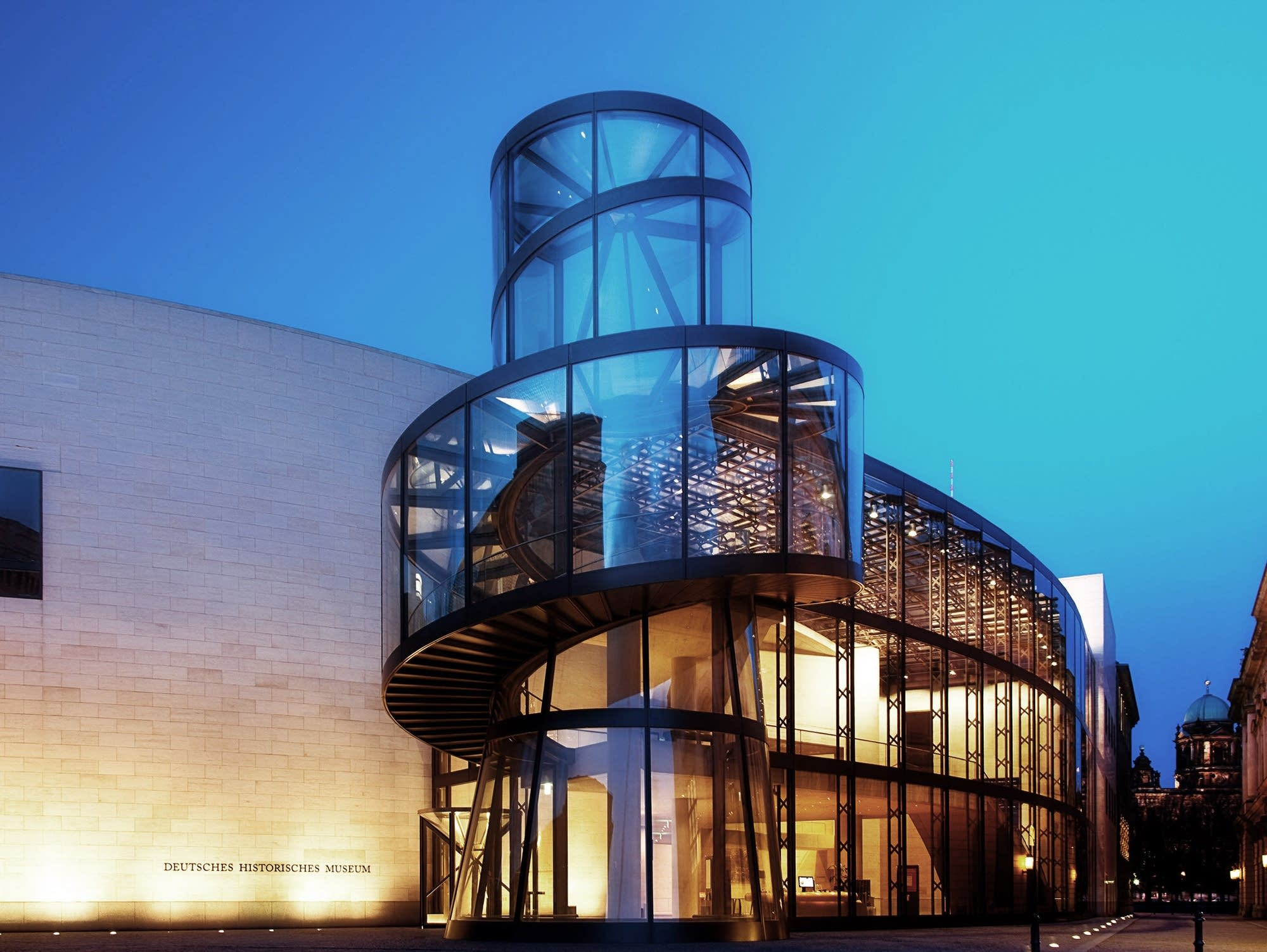 I. M. Pei designed the exhibition hall of the German Historical Museum.