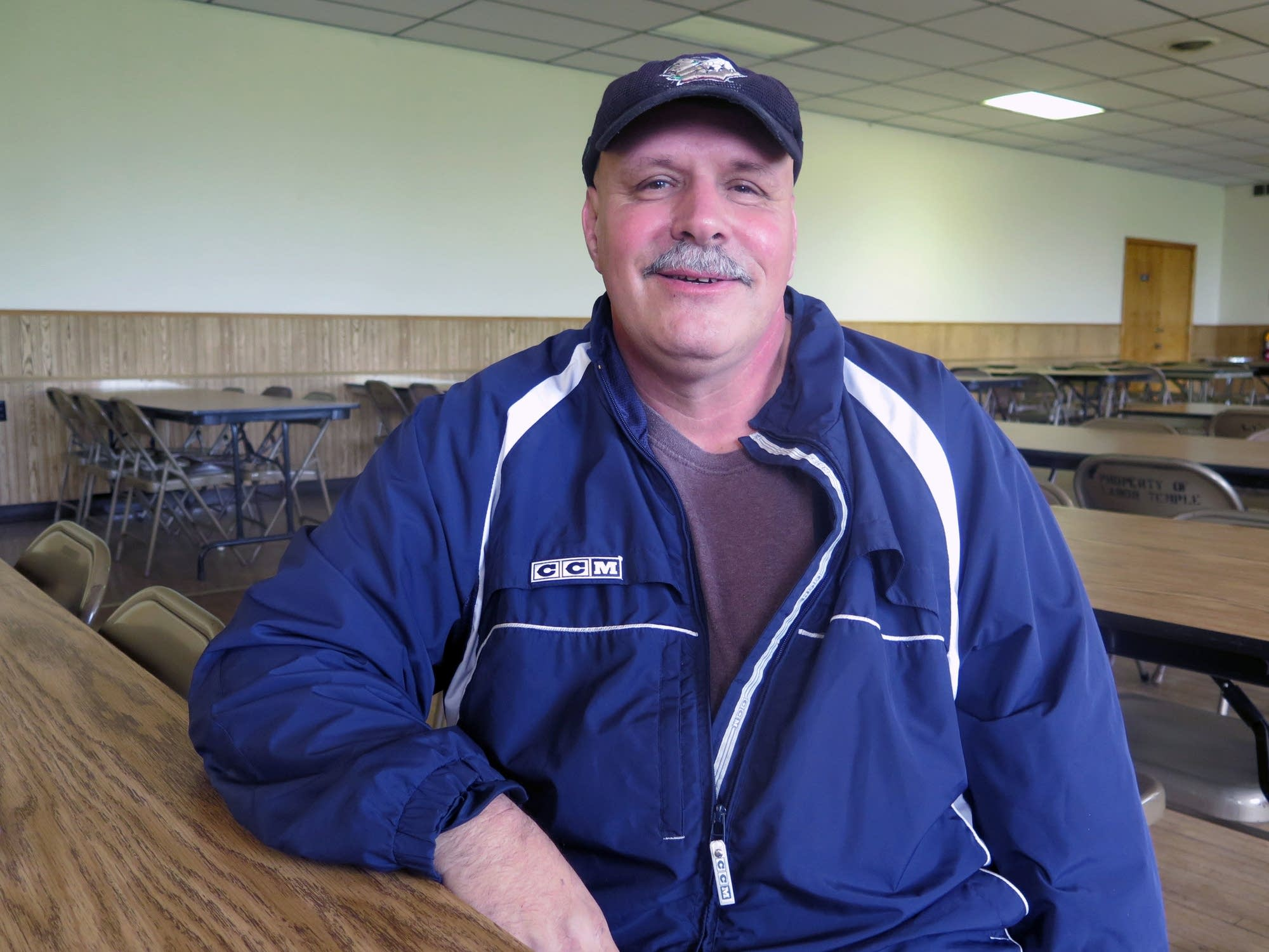 Steve Petoletti, president of the United Steel Workers Local 970 in Cloquet