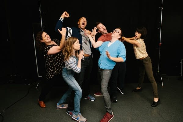 The cast of Don't Think Twice