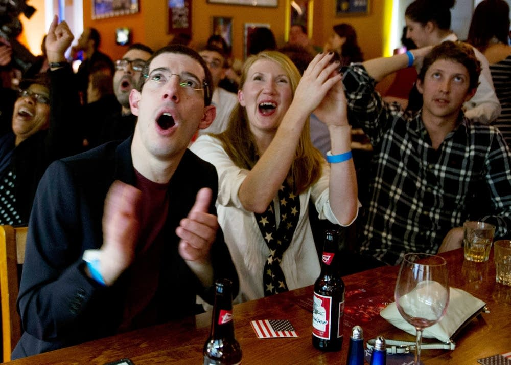 Expats react to the results