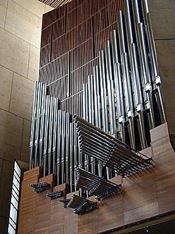 2003 Dobson organ at the Cathedral of Our Lady of the Angels, Los...