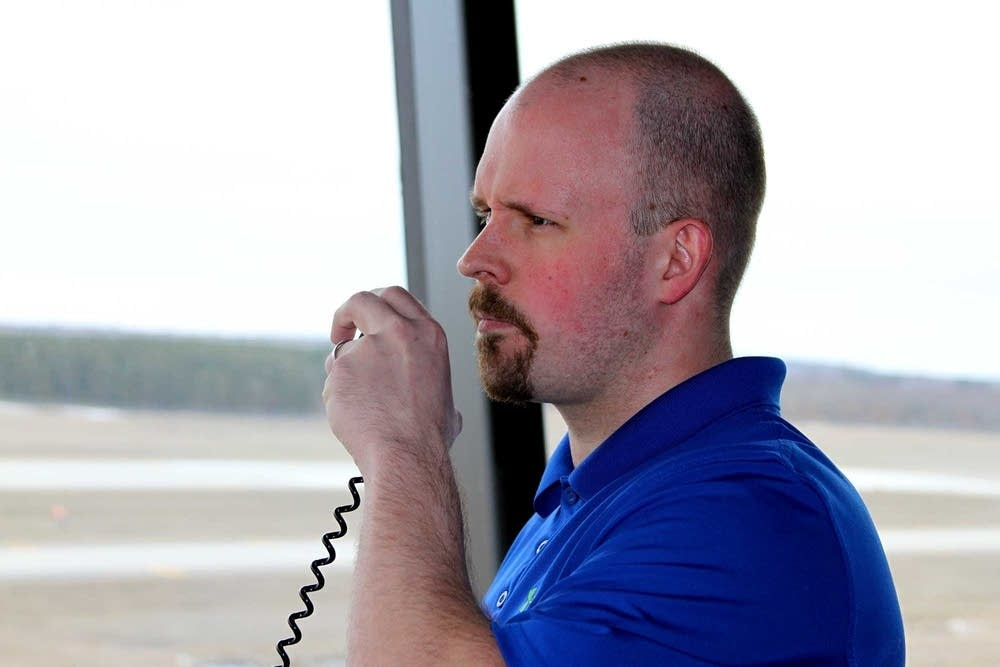 Air traffic controller Brian Dickinson