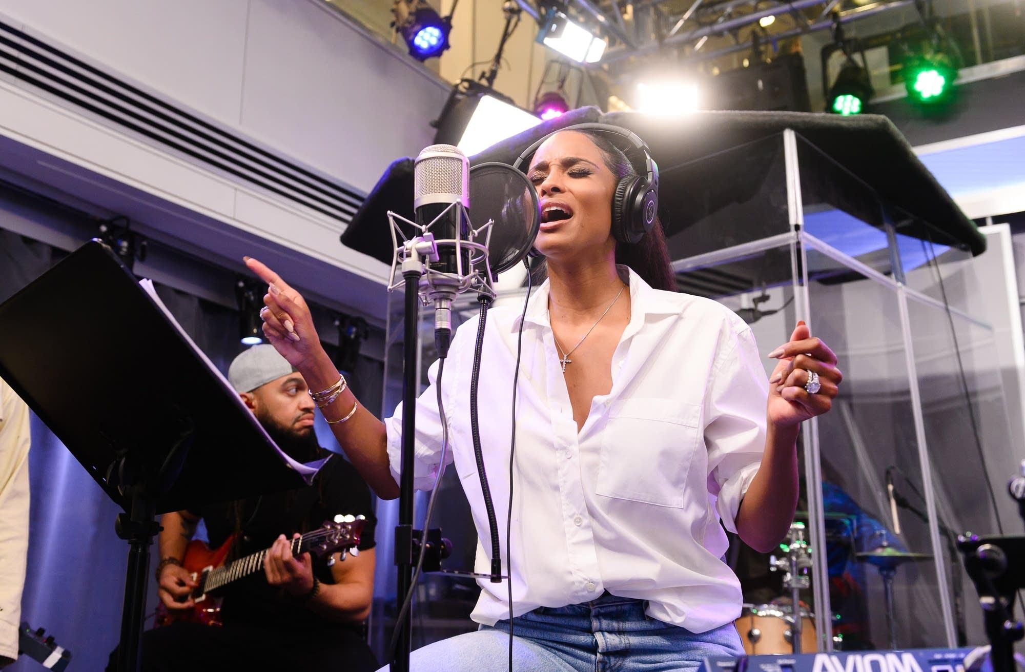Ciara performs in New York