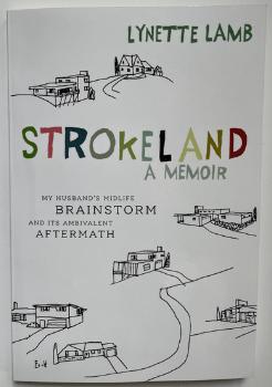 A book cover reading 'Strokeland'