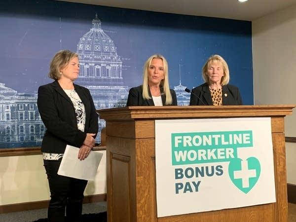 Republican legislators announce pay plan