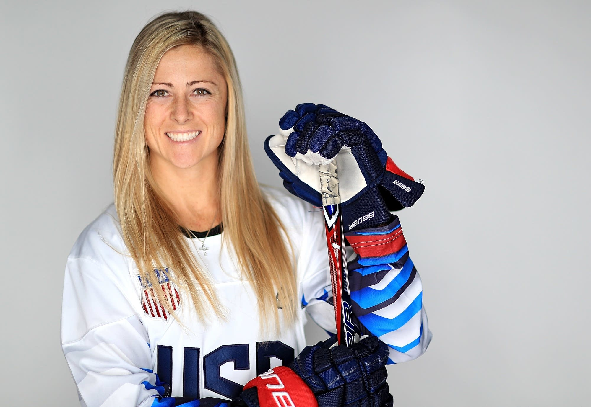 Gigi Marvin, Team USA women's hockey