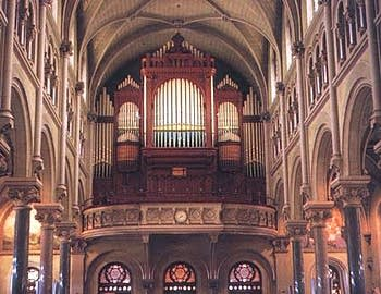 1897 Hutchings organ at the Basilica of our Lady of Perpetual Help...