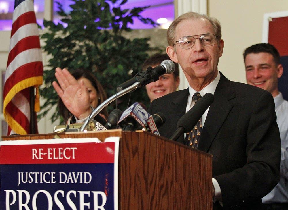 Wis. Justice David Prosser