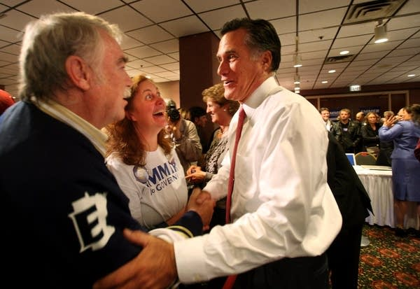 MItt Romney and Tom Emmer