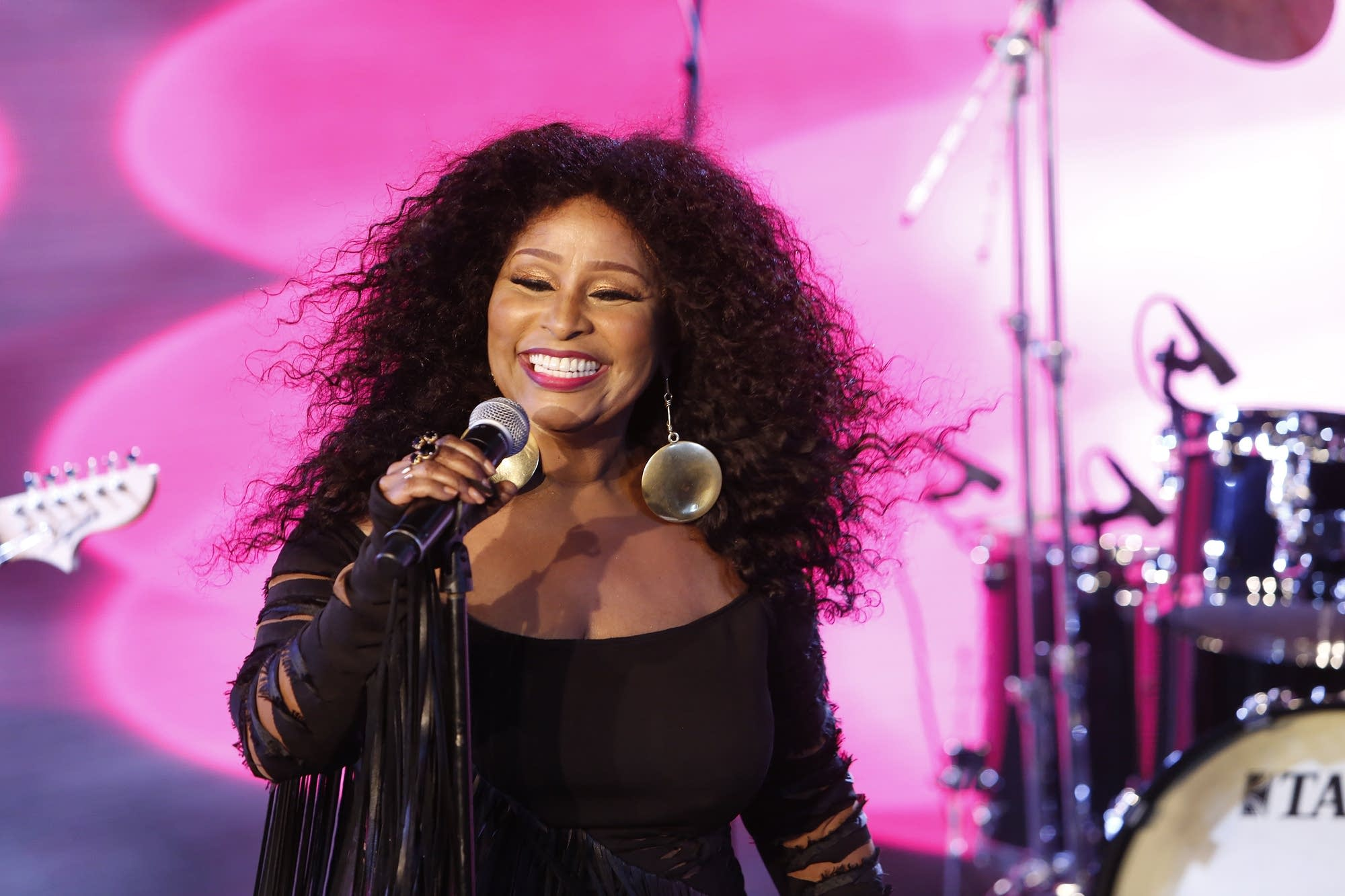Chaka Khan performs on 'Jimmy Kimmel Live'