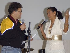 Al Franken and Leeann Tweeden