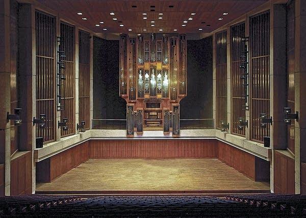 1981 Visser-Rowland organ at Bates Recital Hall, University of Texas,...