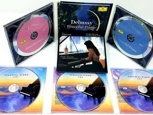 The Peaceful Piano Prize Pack includes six discs' worth of music.