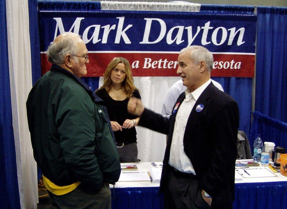 Mark Dayton running for governor