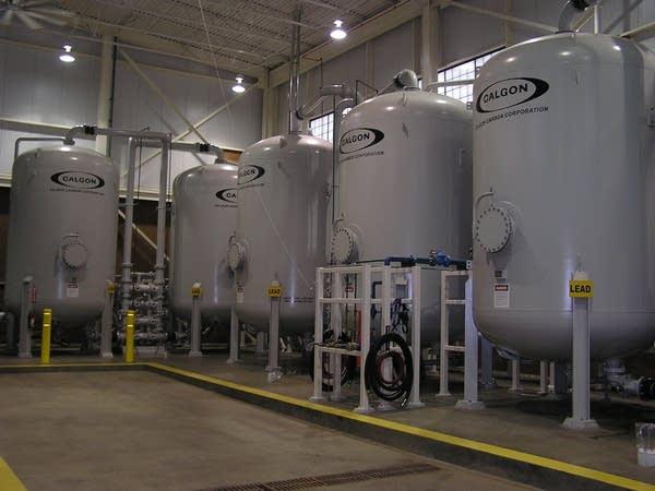 Oakdale carbon filters.