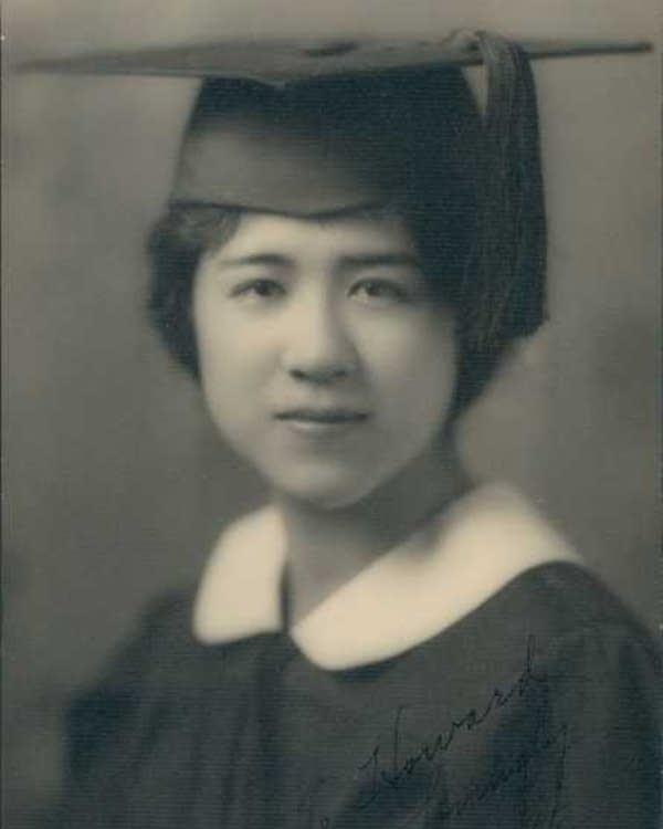 Ruth Nomura, graduate of Oregon State University, 1930.