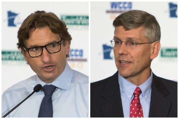 3rd Congressional district candidates Dean Phillips and Erik Paulsen