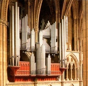 1887 Henry Willis organ at Truro Cathedral