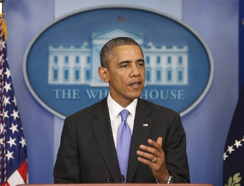 Obama Makes Statement After Senate Passes Bill To