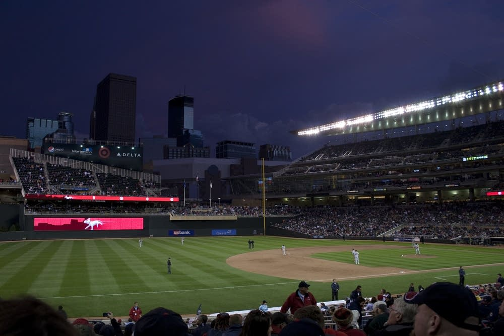 Night over Target Field