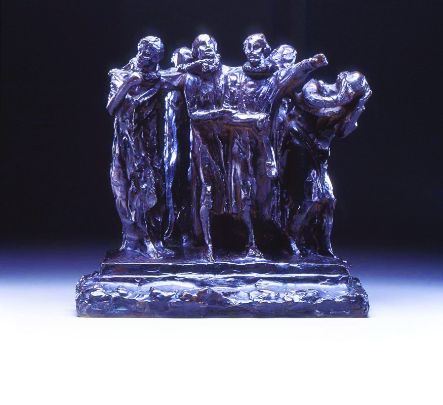 The Burghers of Calais, First Maquette