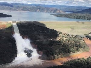 Damaged Oroville Dam
