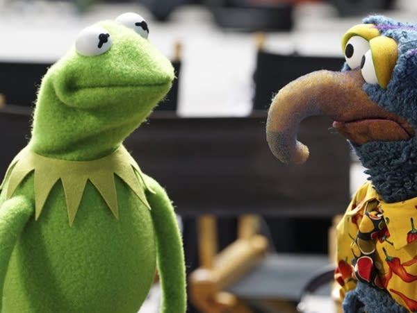 Kermit and Gonzo
