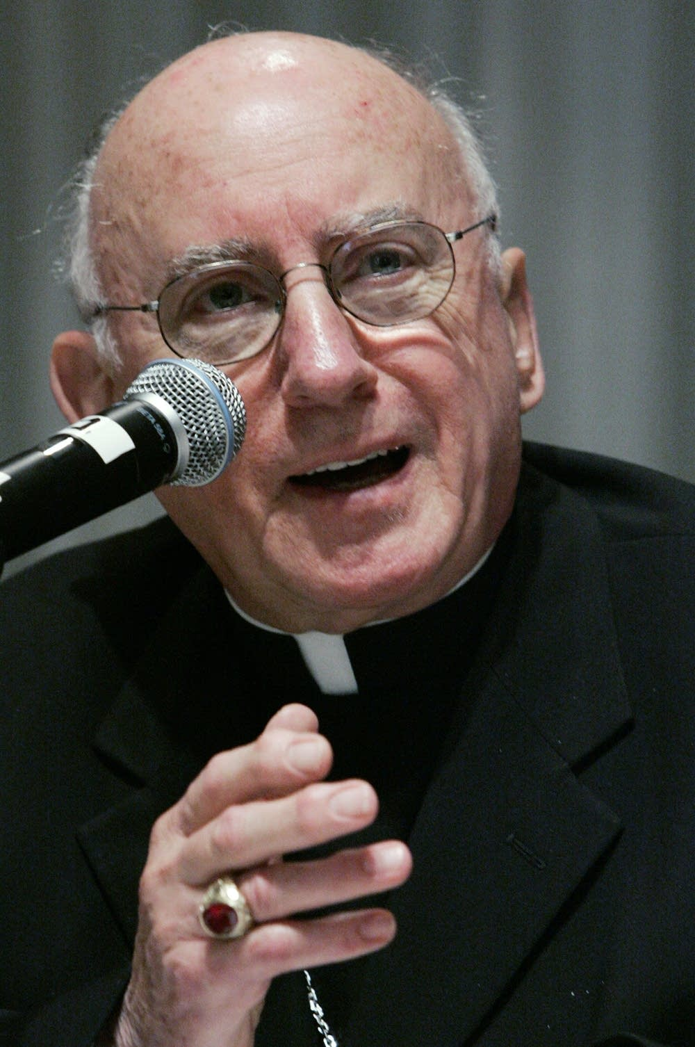 Retired Archbishop Harry Flynn