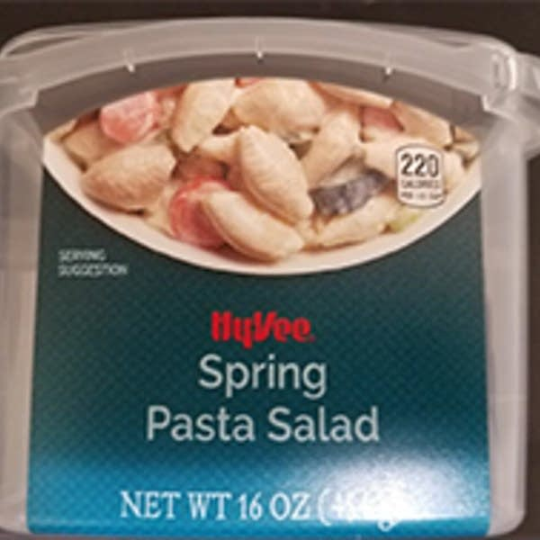 Hy-Vee is voluntarily recalling its Hy-Vee Spring Pasta Salad.