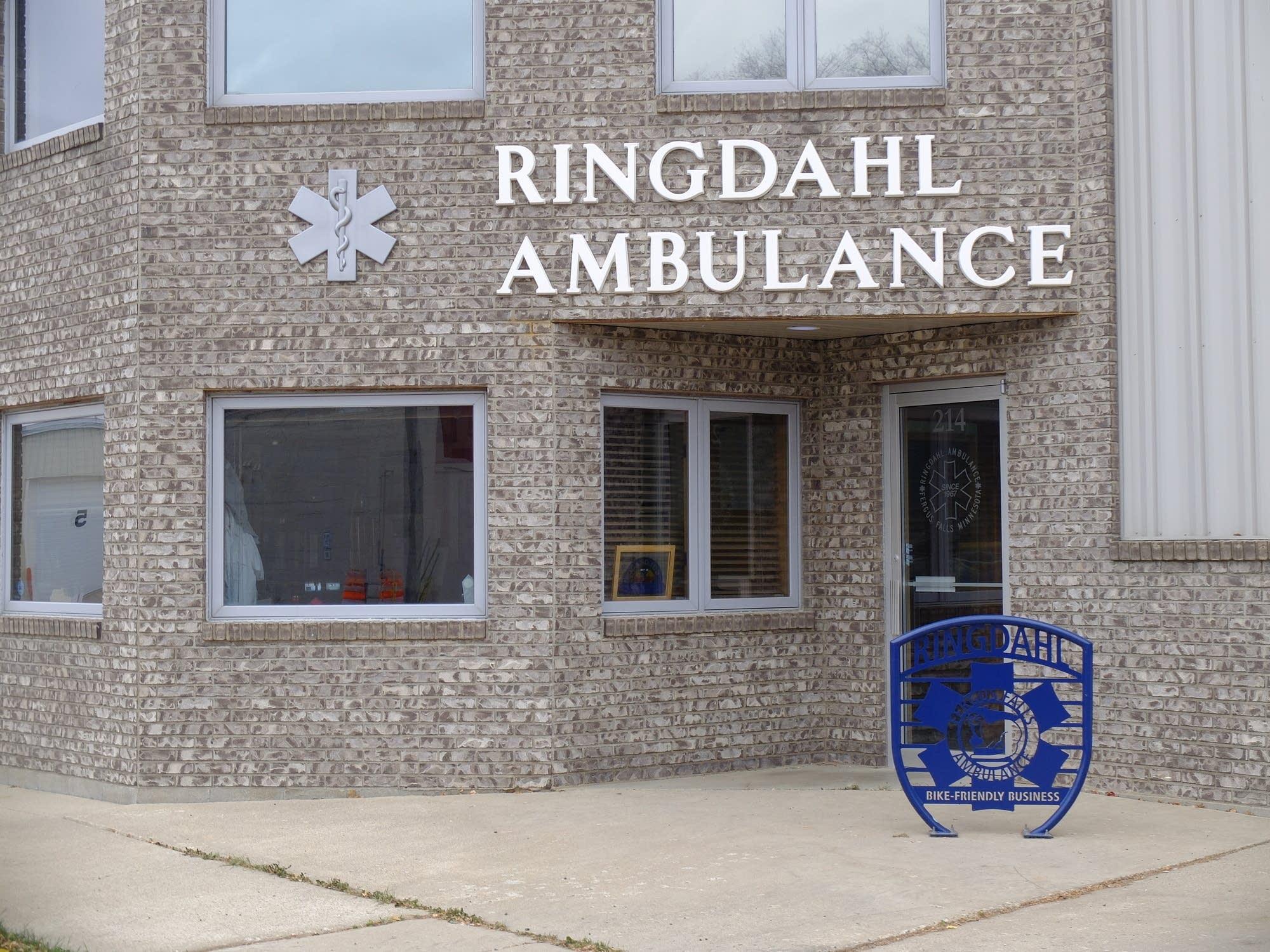 Ringdahl Ambulance Service in Fergus Falls.