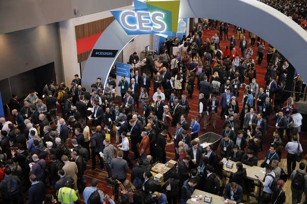 A Covid-infected attendee emerges from CES, a massive tech conference in January