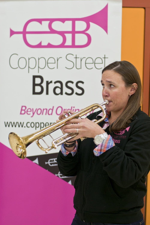 Allison Hall trumpet