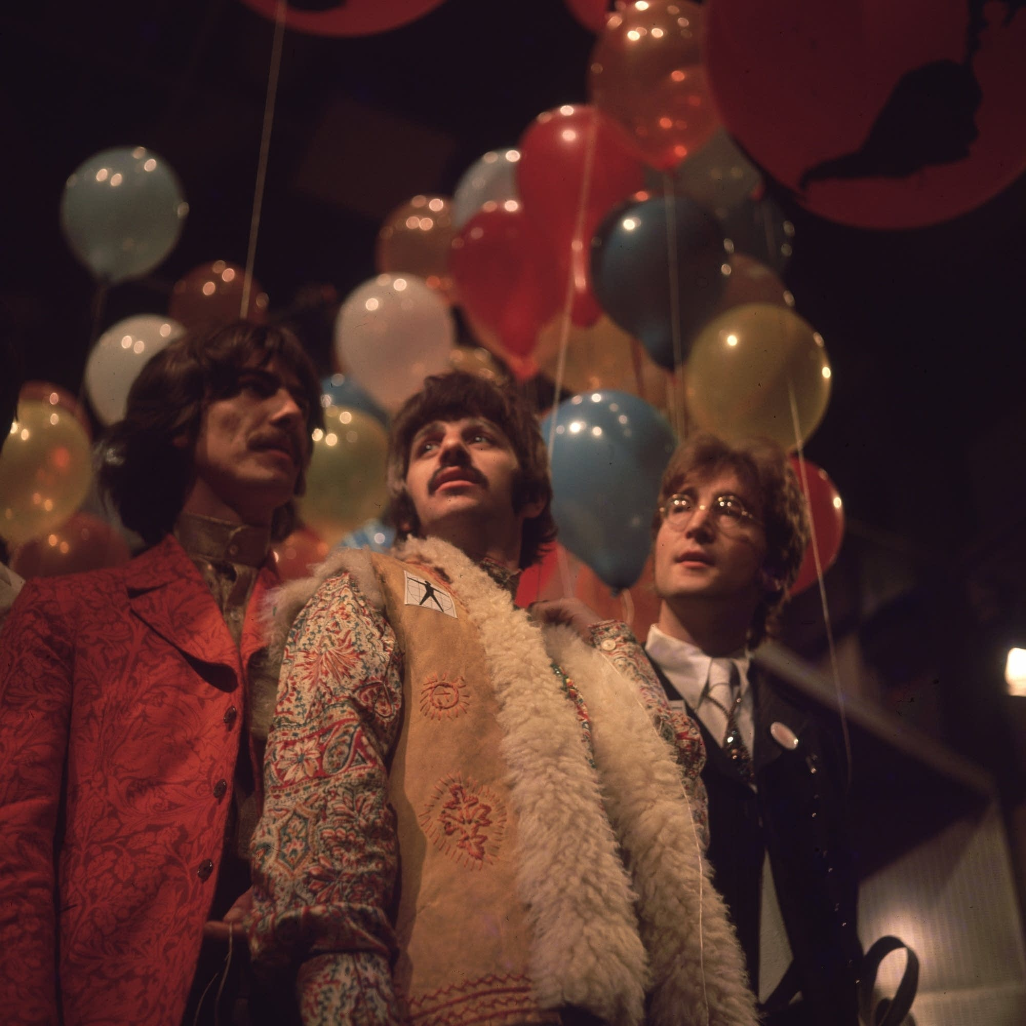The Beatles at Abbey Road in 1967.